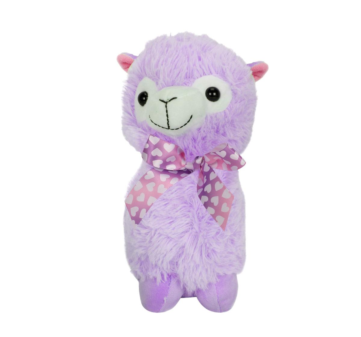 Fuzzbuzz   Fuzzbuzz Llama Stuffed Plush Toy - Purple - 33Cm Quirky Soft Toys for Kids age 0M+ - 33 Cm (Purple)