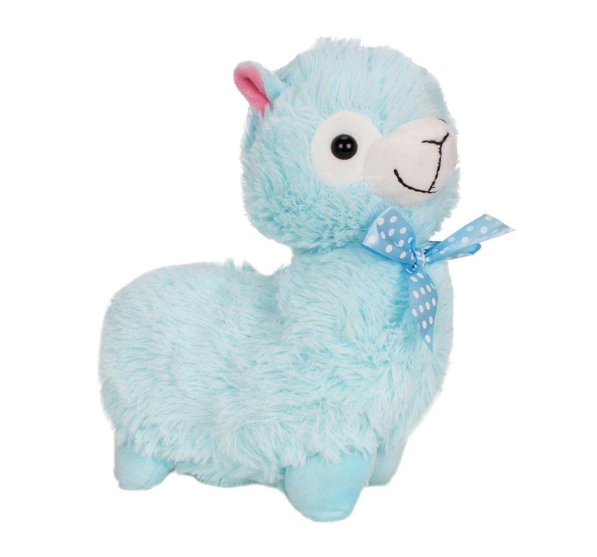 Fuzzbuzz | Fuzzbuzz Llama Stuffed Plush Toy - Blue - 28Cm Quirky Soft Toys for Kids age 0M+ - 28 Cm (Blue)