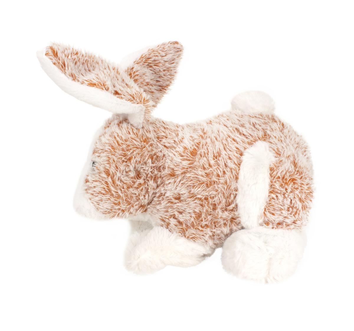 Fuzzbuzz | Fuzzbuzz Soft Furry Bunny - White - 25Cm Quirky Soft Toys for Kids age 0M+ - 18 Cm (White)