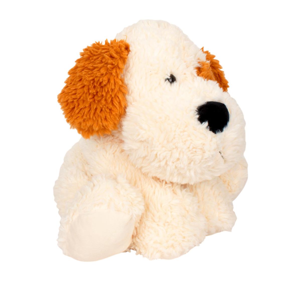 Fuzzbuzz | Fuzzbuzz Sitting Dog - 41Cm Quirky Soft Toys for Kids age 0M+ - 40 Cm (Cream)