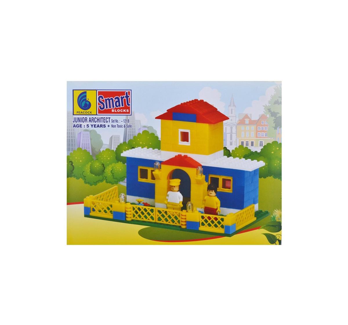 Peacock | Peacock Junior Architect Generic Blocks for Kids age 5Y+