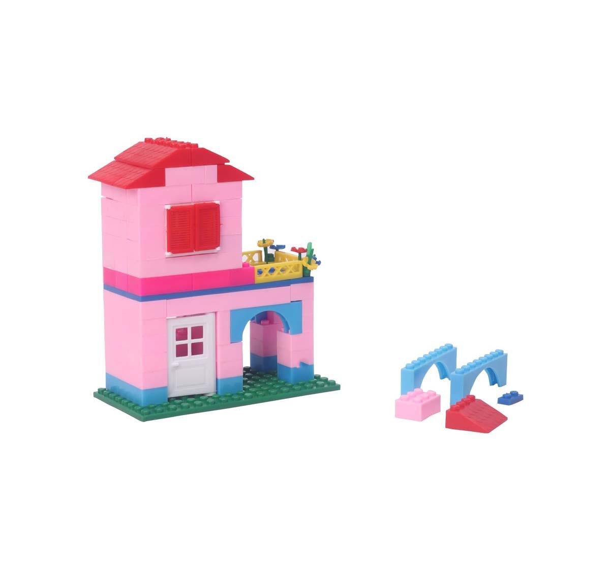 Peacock | Peacock Smart Dream House 135 Pcs Generic Blocks for Kids age 5Y+