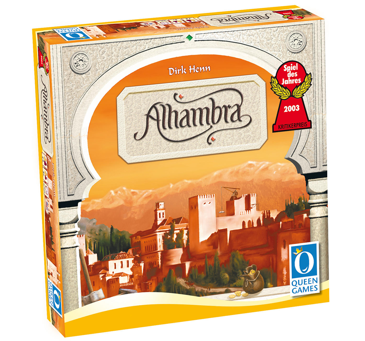 Queen Games   Queen Games  Alhambra Board Games for Kids age 8Y+