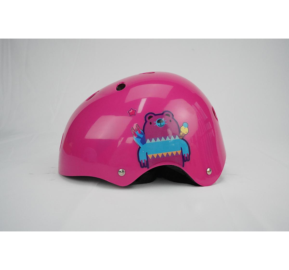 Zoozi   Zoozi Sports Helmet Bear, Sports & Accessories for Kids age 3Y+ (Purple)