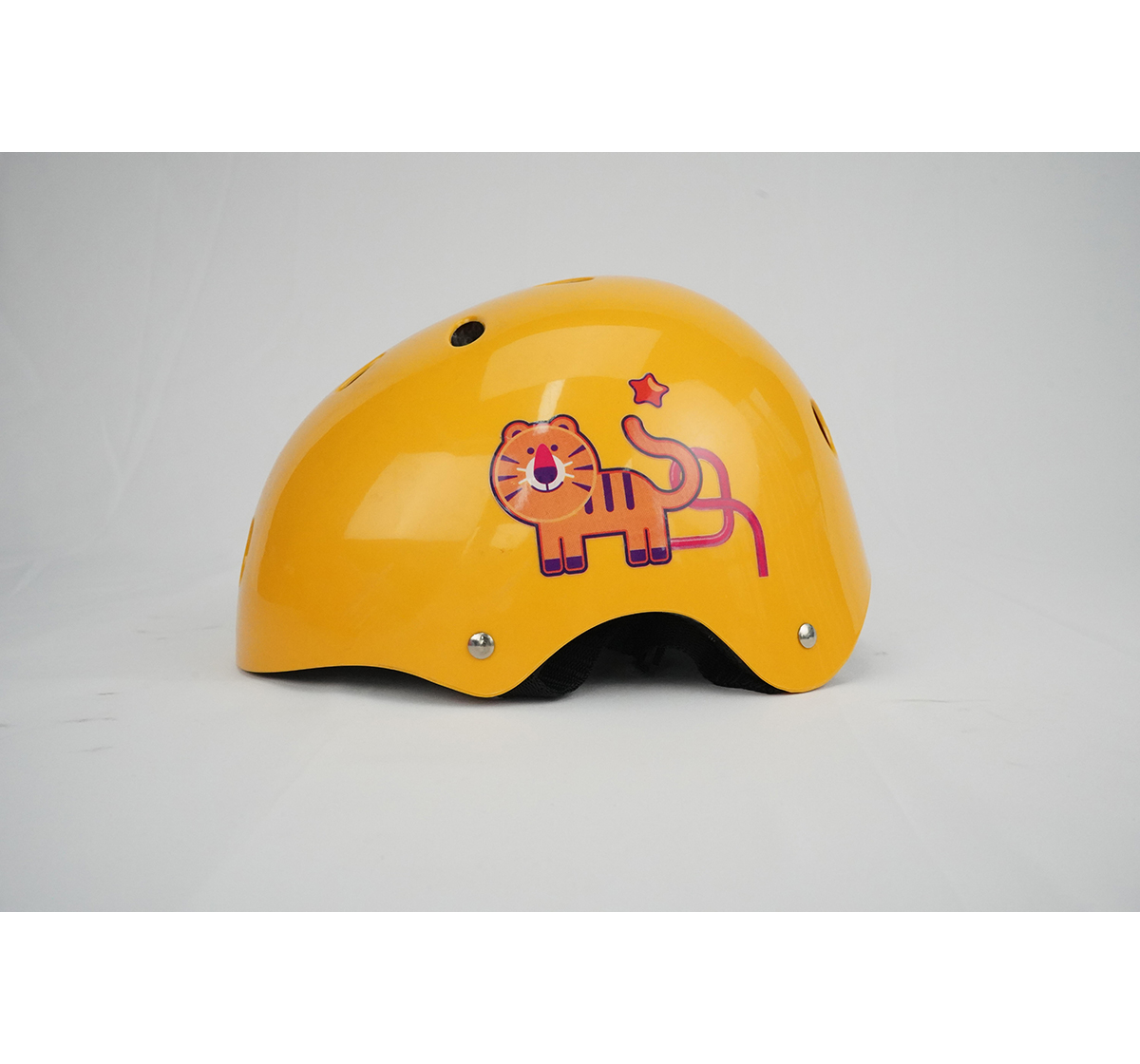 Zoozi | Zoozi Sports Helmet Tiger Sports & Accessories for Kids age 3Y+ (Yellow)