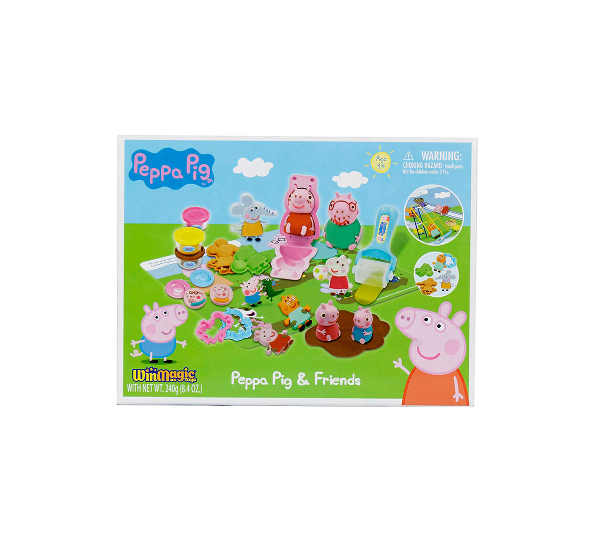 Peppa Pig | Peppa Pig AND Friends Clay & Dough for Kids age 5Y+
