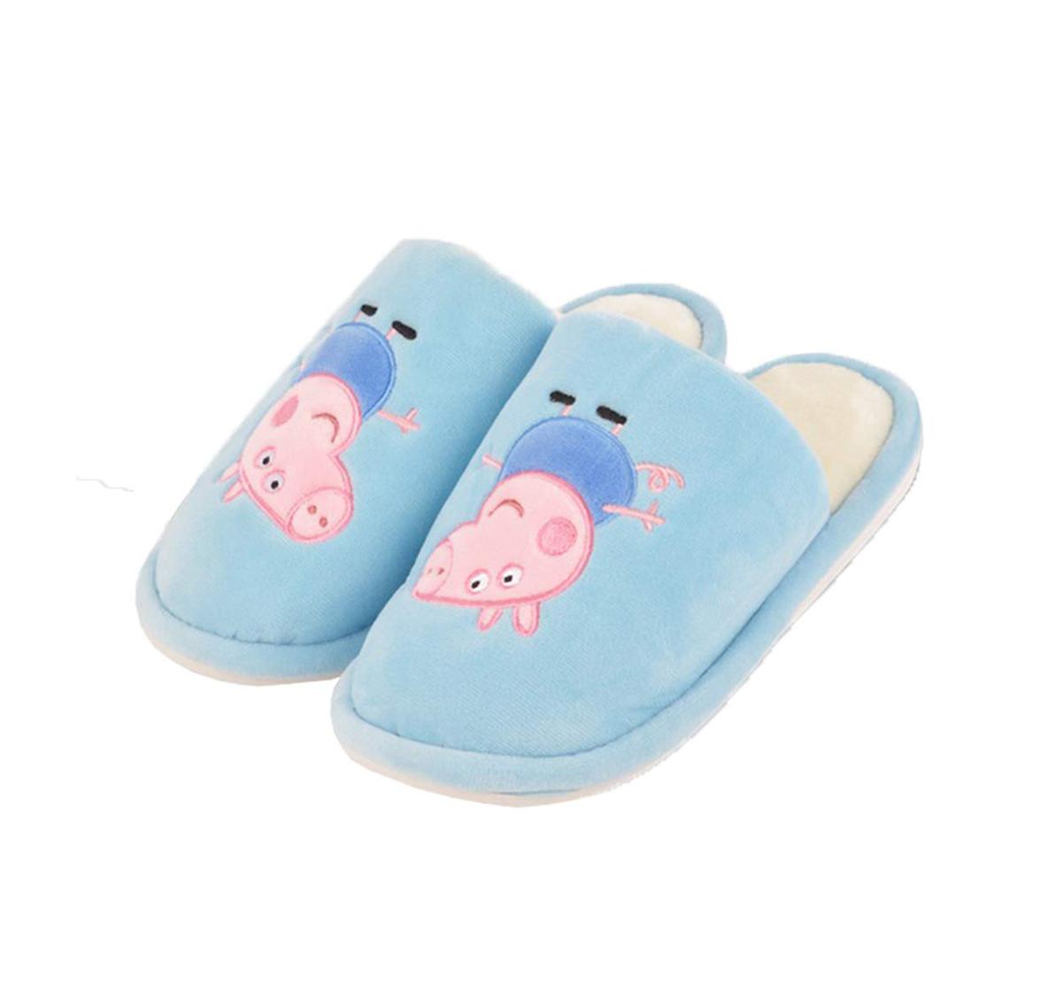 Peppa Pig | Peppa Pig Slipper Plush Accessory for Girls age 3Y+ 22 Cm (Blue)
