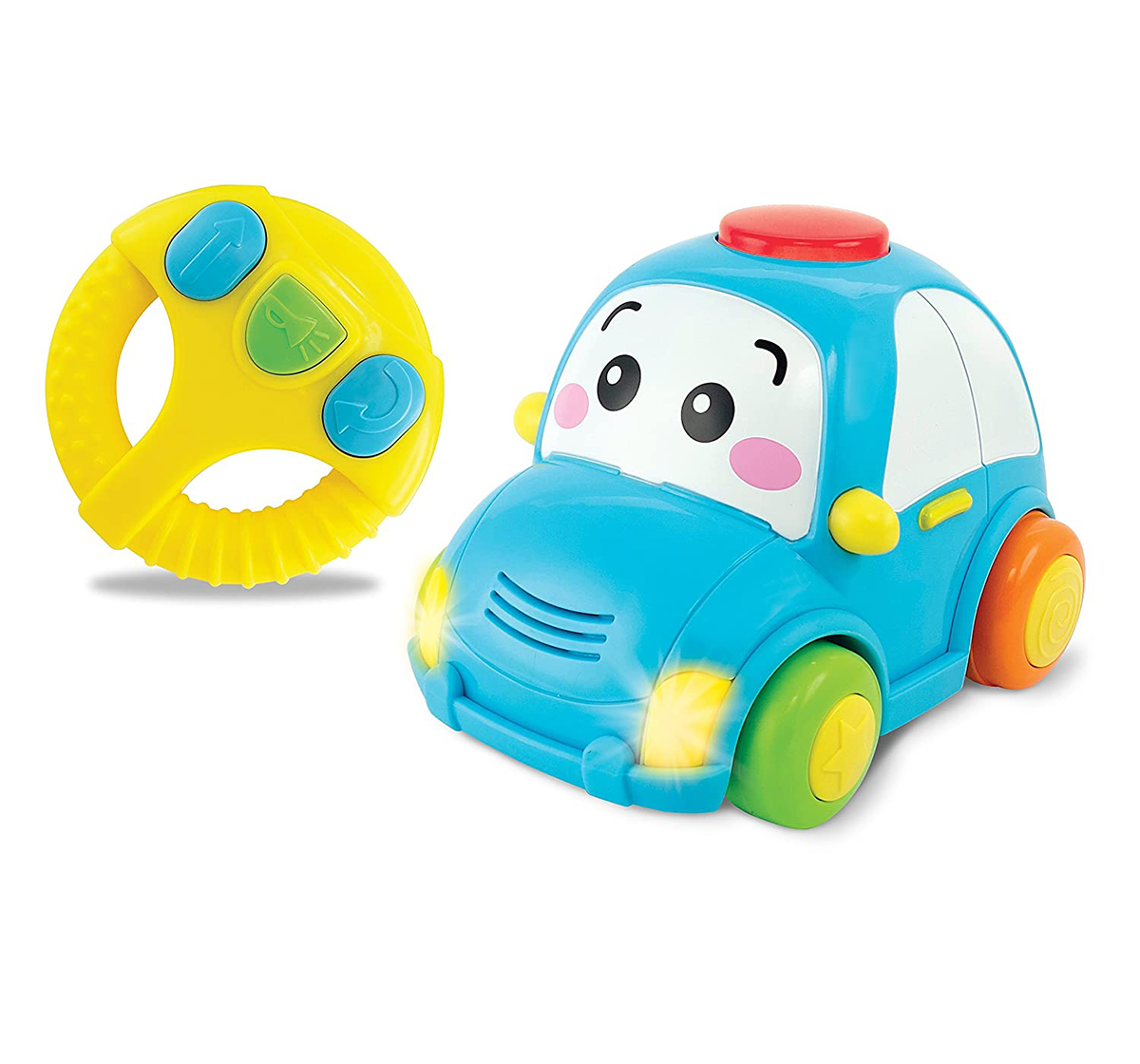 WinFun | Winfun - Remote Control -  Light & Sounds Car Learning Toys for Kids age 12M+
