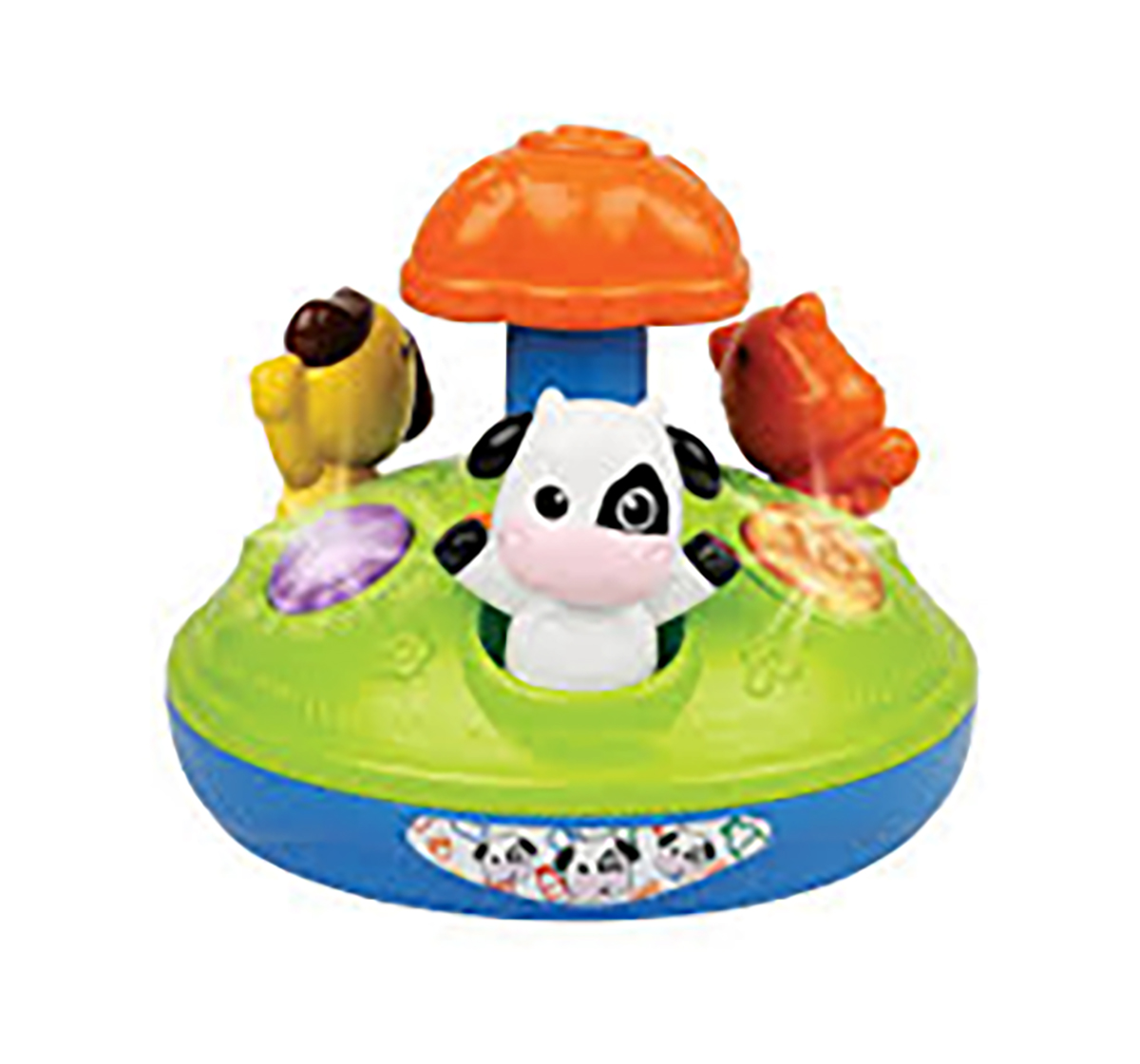 WinFun | Winfun - Animal Friends Spinner  New Born for Kids age 12M+
