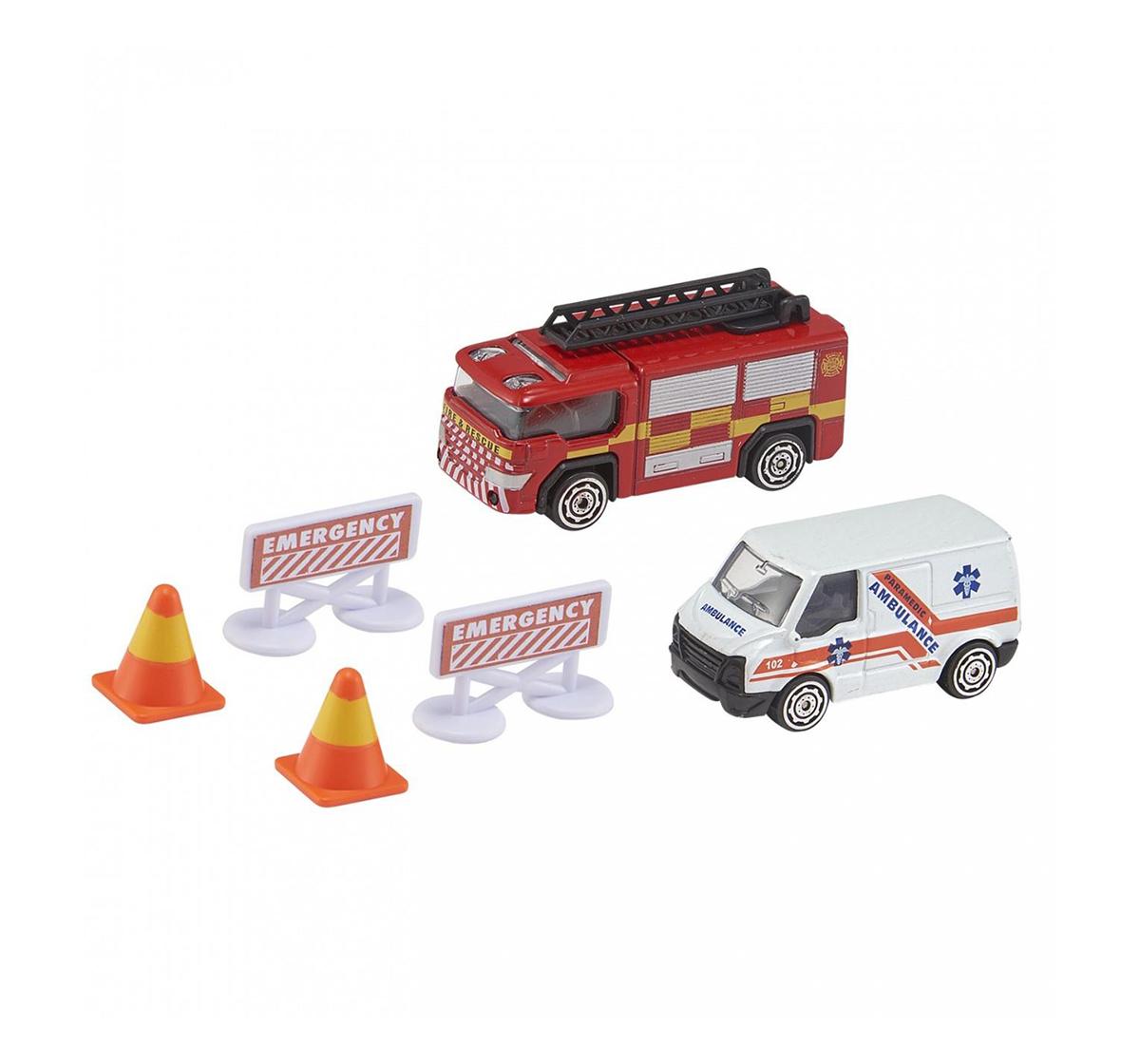 Ralleyz   Ralleyz RESCUE TEAM HELI & AMBULNCE Vehicles for Kids age 3Y+