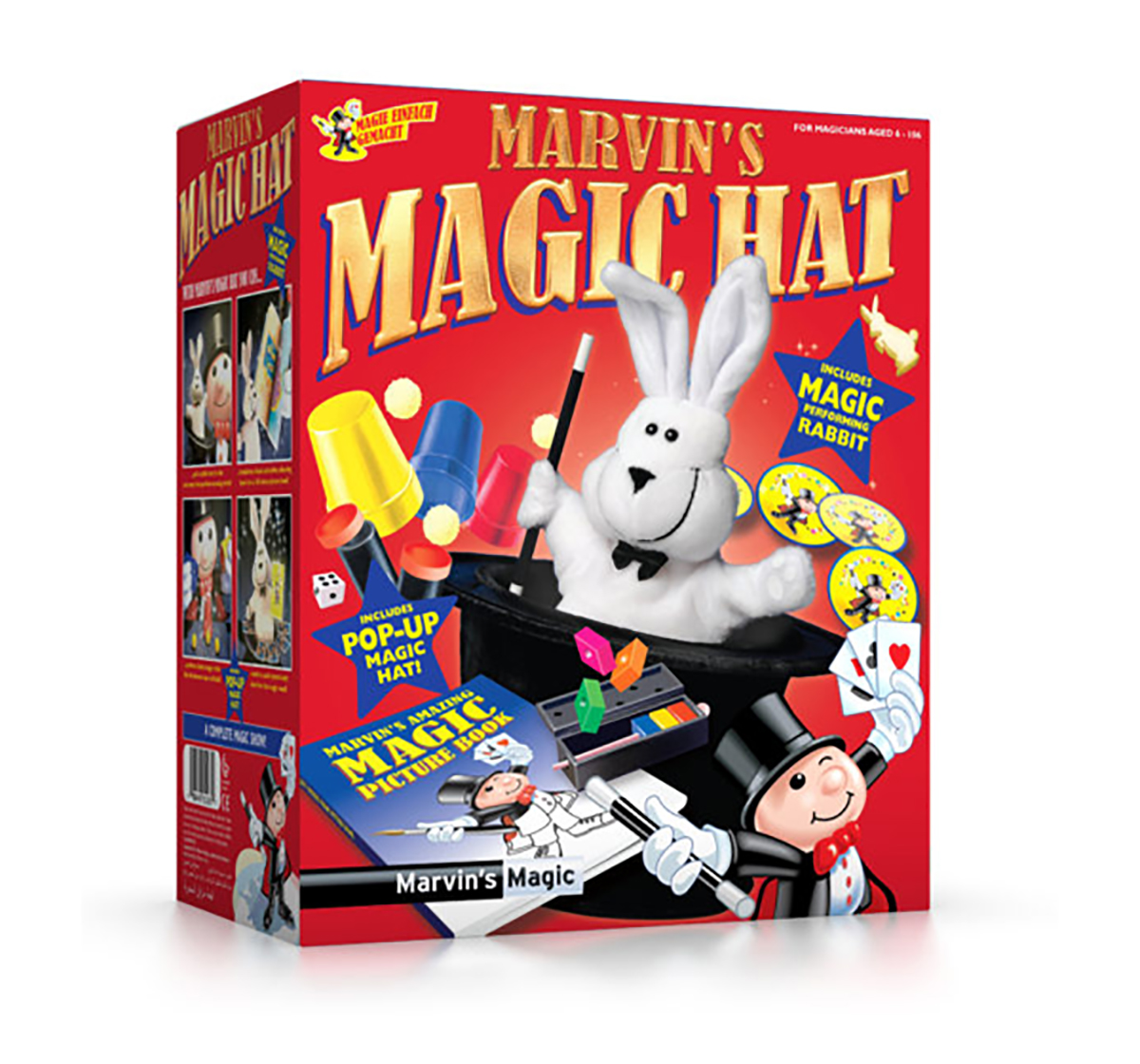 Marvin's Magic | Marvin'S Magic New Magic Hat Impulse Toys for Kids age 6Y+