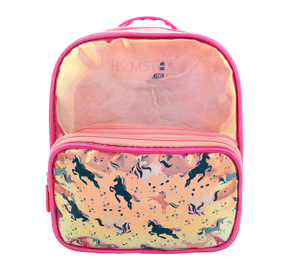 Hamster London | Hamster London Small Unicorn Backpack for Girls age 3Y+ (Pink)