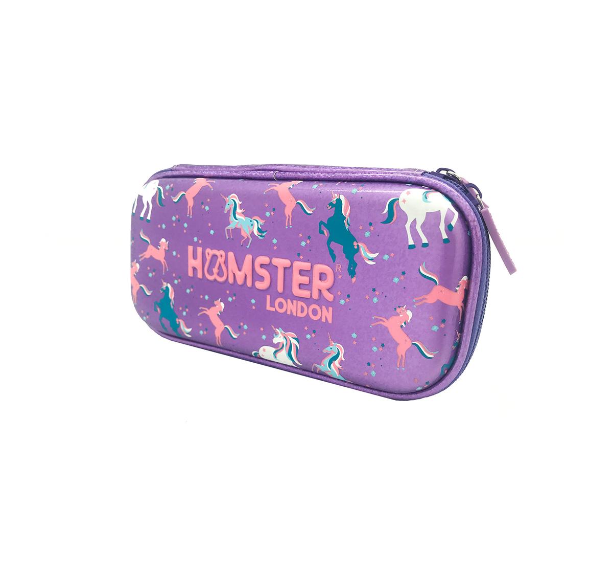 Hamster London | Hamster London Small Unicorn Stationery Hardcase for Girls age 3Y+ (Purple)