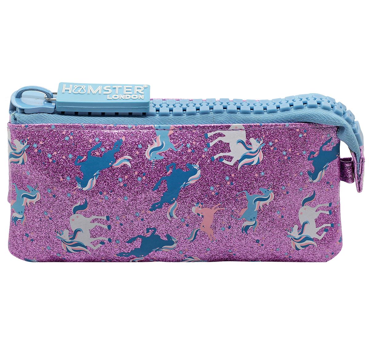 Hamster London | Hamster London Unicorn Big Zipper Pouch for Girls age 3Y+ (Purple)
