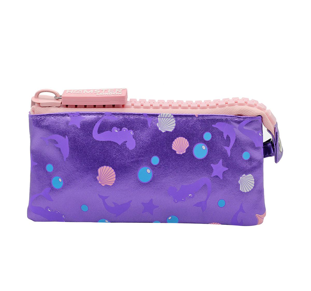 Hamster London | Hamster London Mermaid Big Zipper Pouch for Girls age 3Y+ (Purple)
