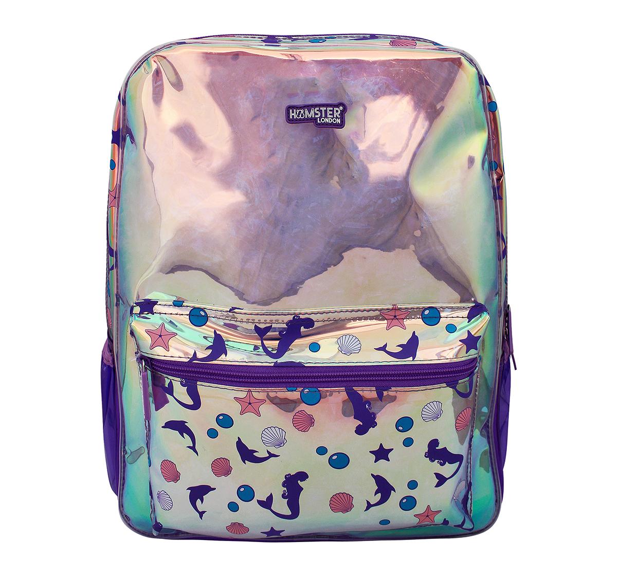 Hamster London | Hamster London Big Mermaid Backpack for Girls age 3Y+ (Purple)