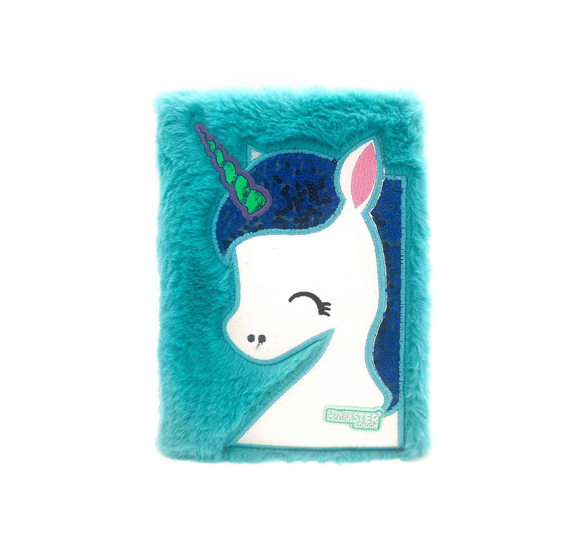 Hamster London | Hamster London Unicorn Diary for Kids age 3Y+ (Green)