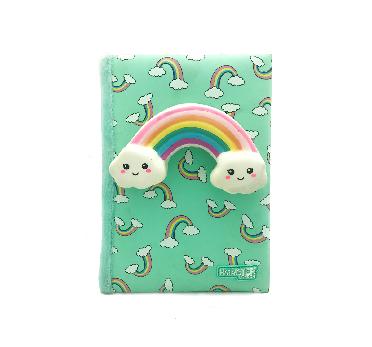 Hamster London   Hamster London Rainbow Diary for Kids age 3Y+ (Green)