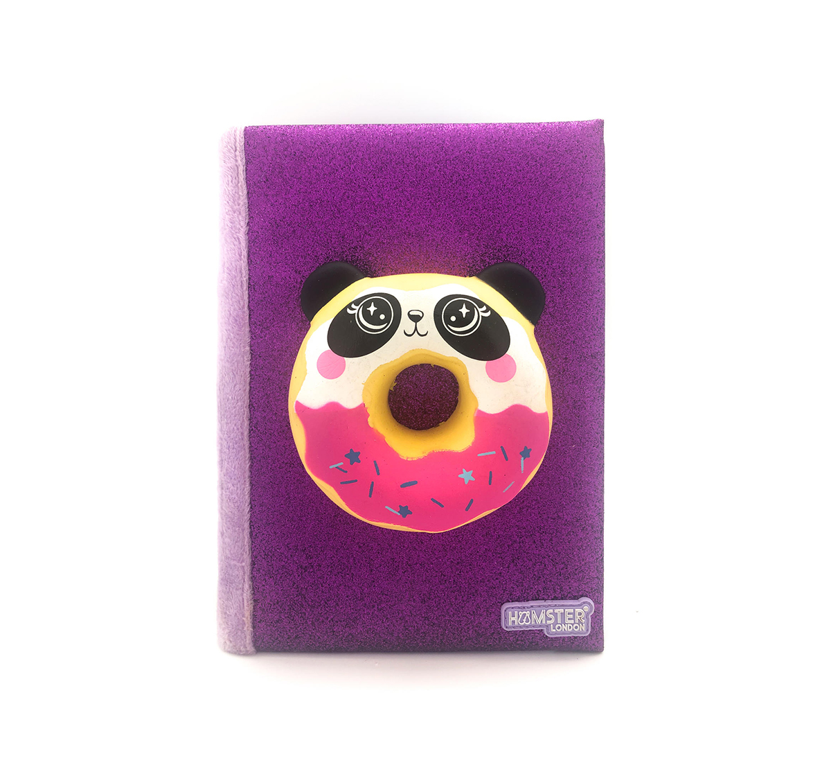 Hamster London | Hamster London Panda Doughnut Diary for Kids age 3Y+ (Purple)