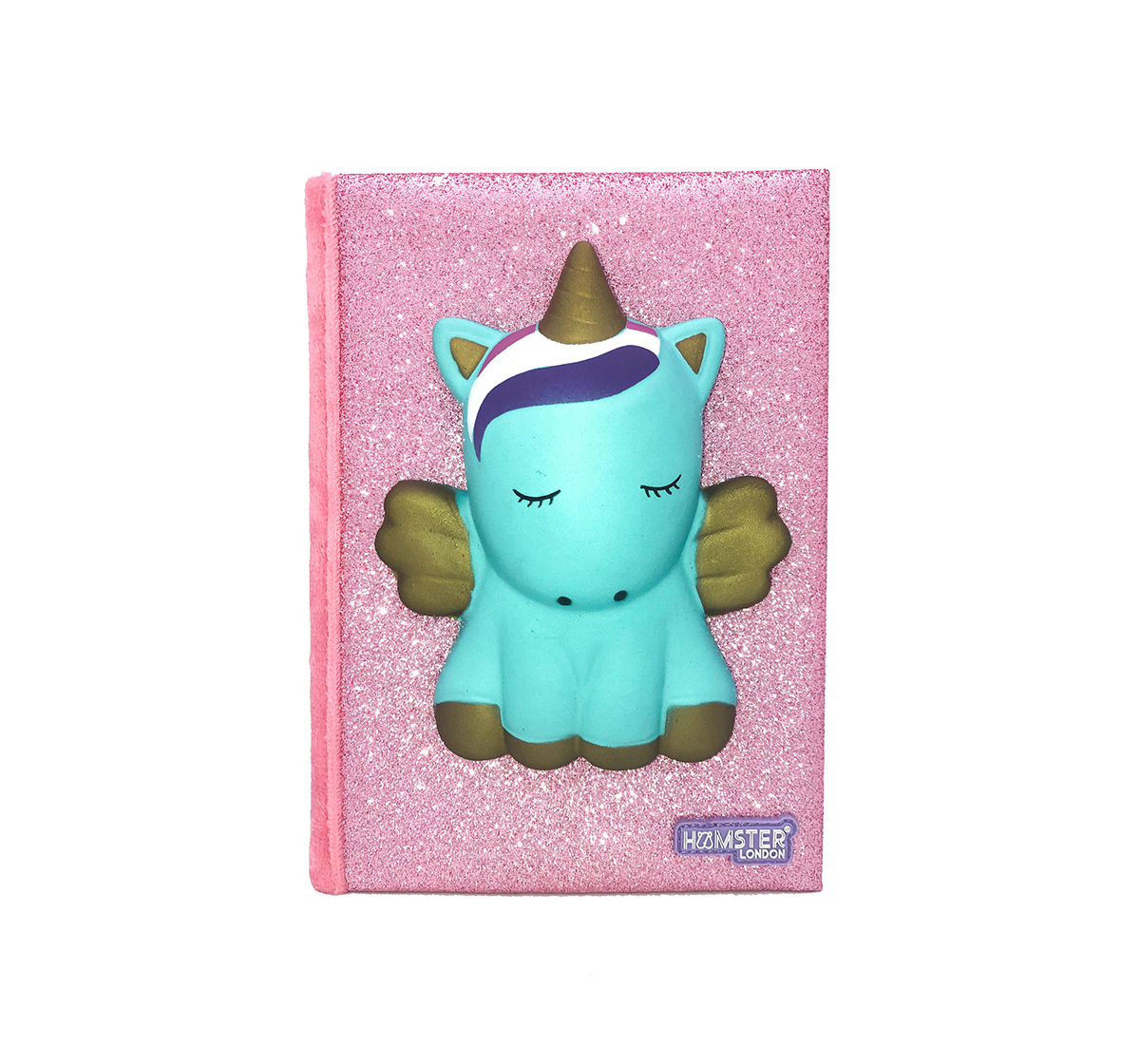 Hamster London | Hamster London Unicorn Diary for Kids age 3Y+ (Blue)