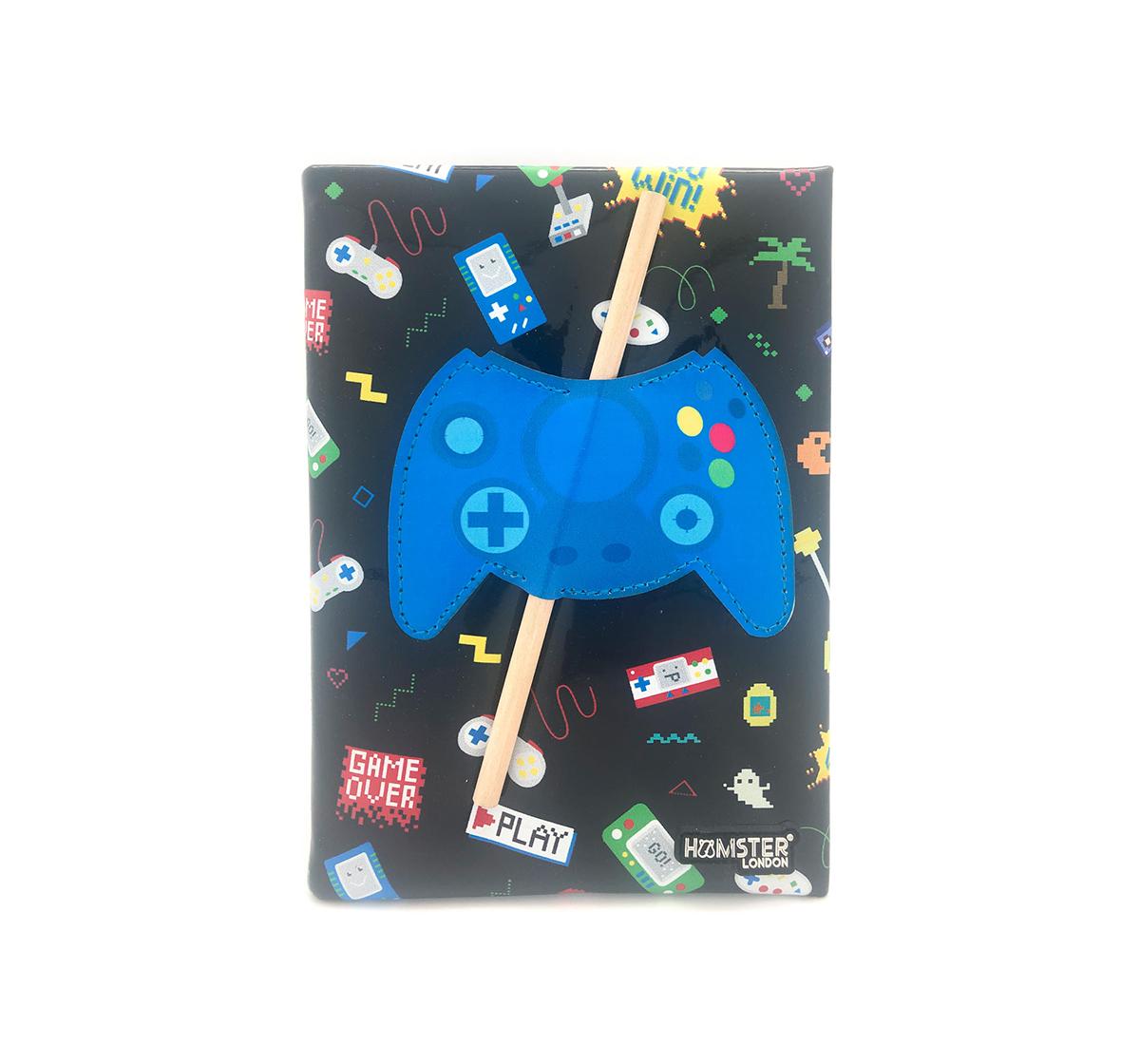 Hamster London   Hamster London Gamer Diary for Kids age 3Y+ (Blue)