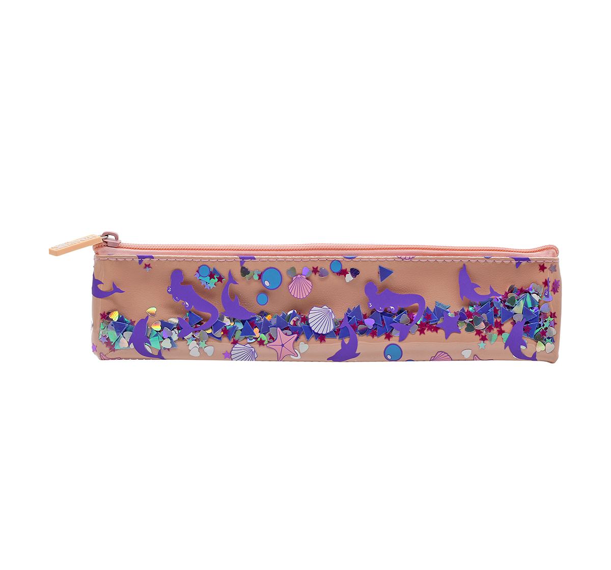 Hamster London   Hamster London Mermaid Pencil Pouch with Book Band for Kids age 3Y+ (Peach)