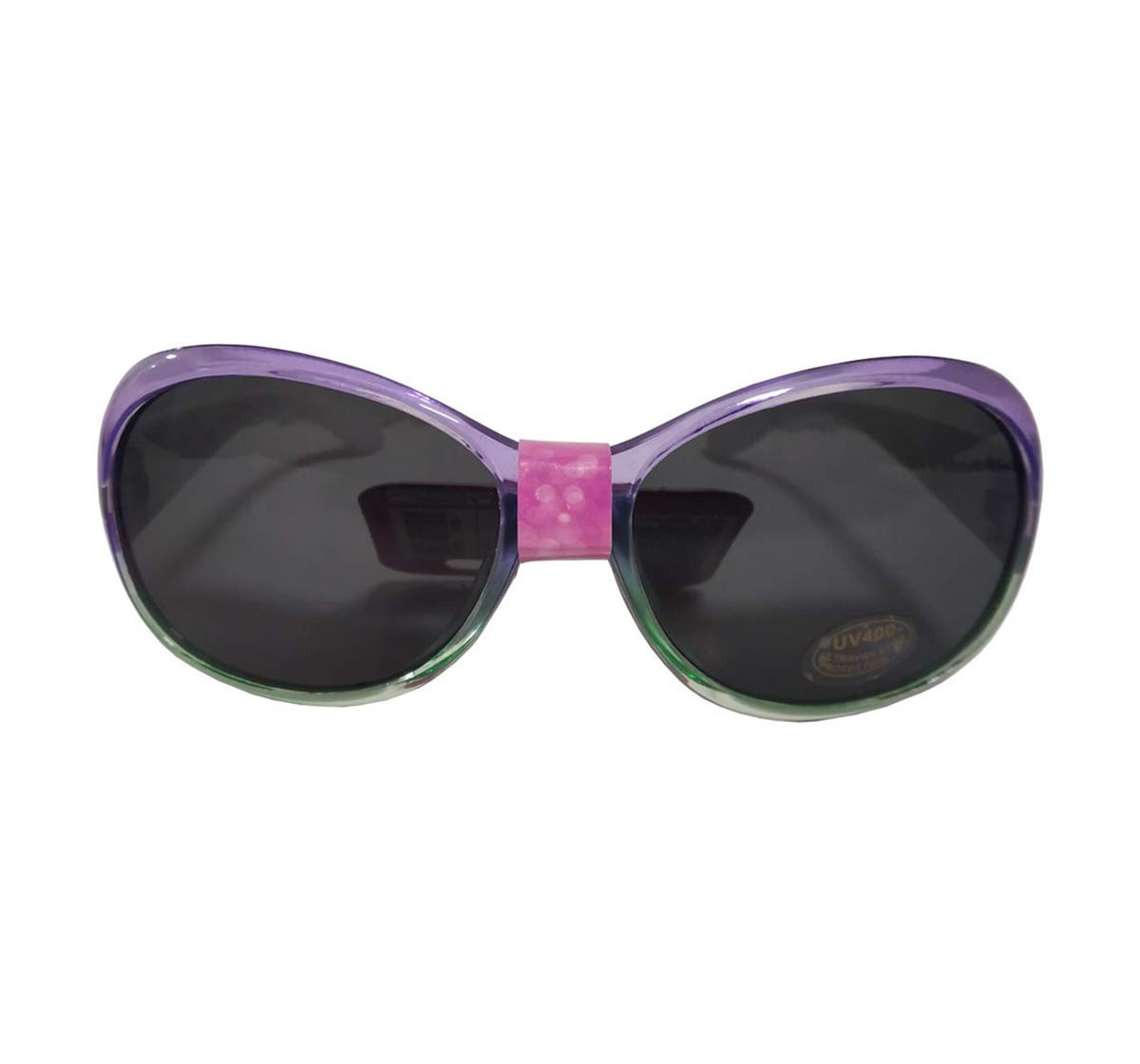 Disney | Disney Ariel & Flounder Glitter Oval Shape Sunglasses for Girls age 3Y+ (Purple)