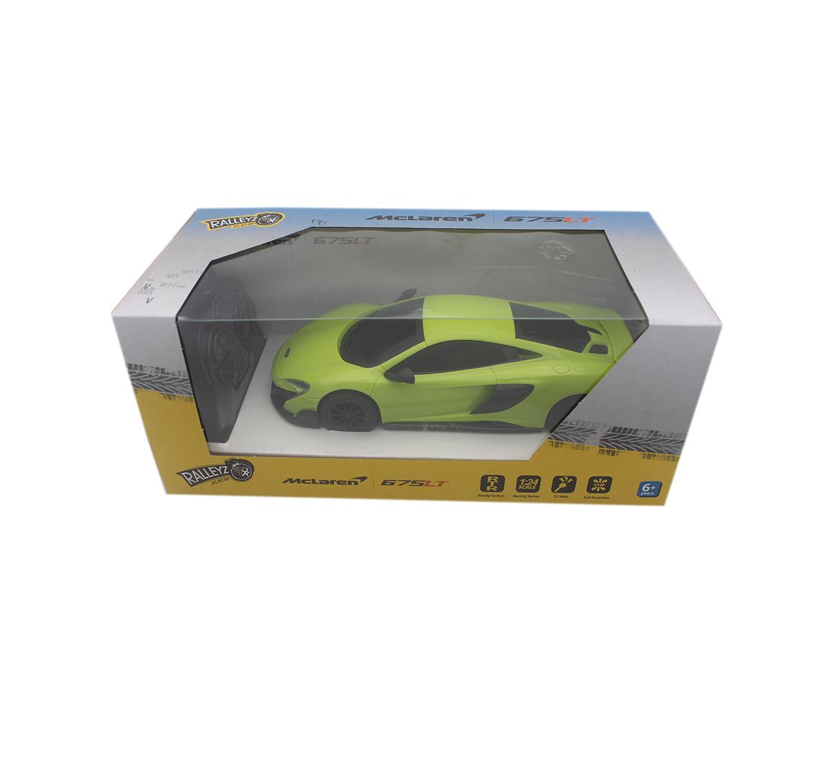 Ralleyz | Ralleyz 1:24 27Mhz Mclaren Remote Control Car Green, 6Y+