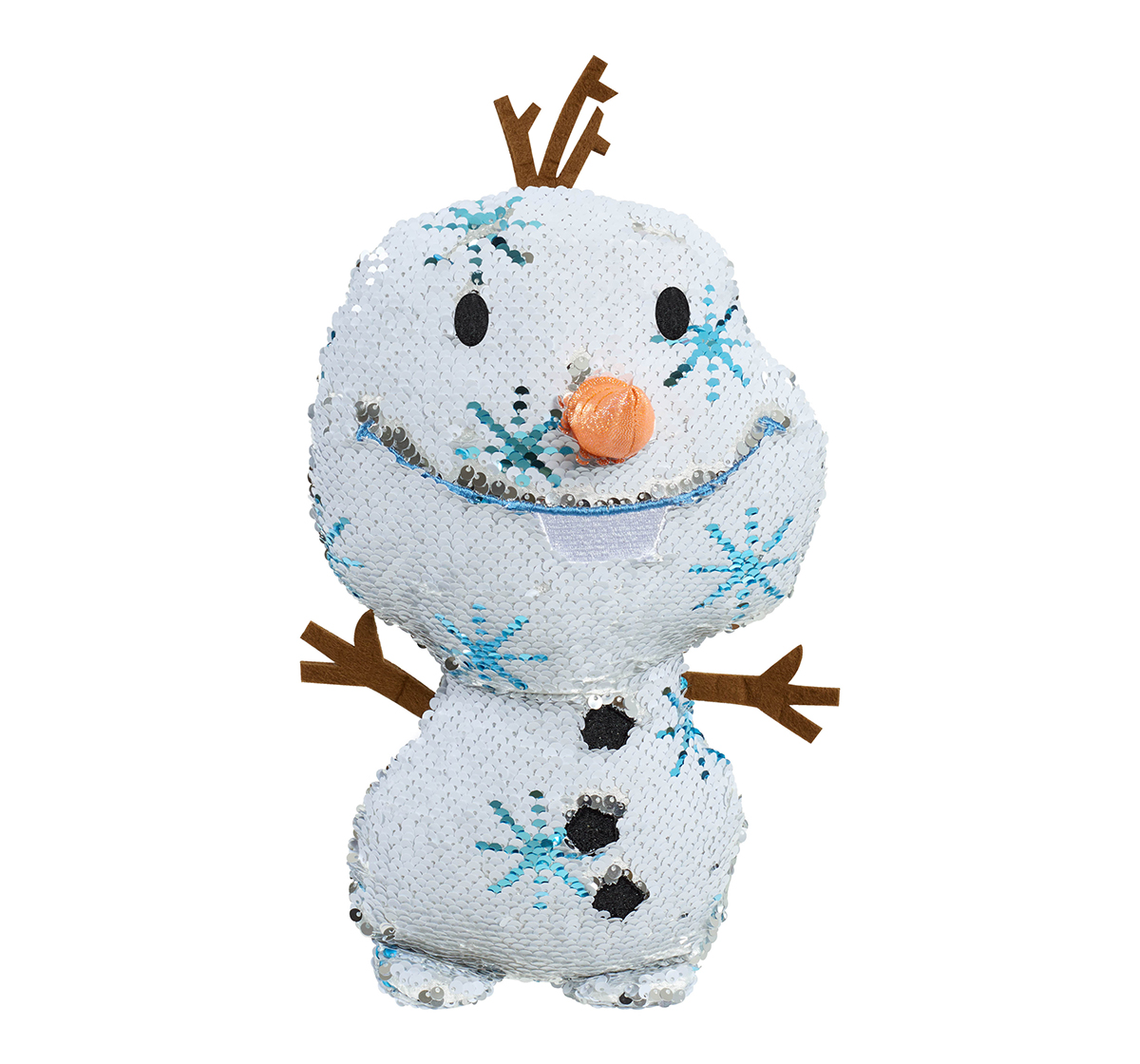 Disney   Disney Frozen2 Reversible Sequins Large Plush Character Soft Toys for Girls age 5Y+ - 30.48 Cm