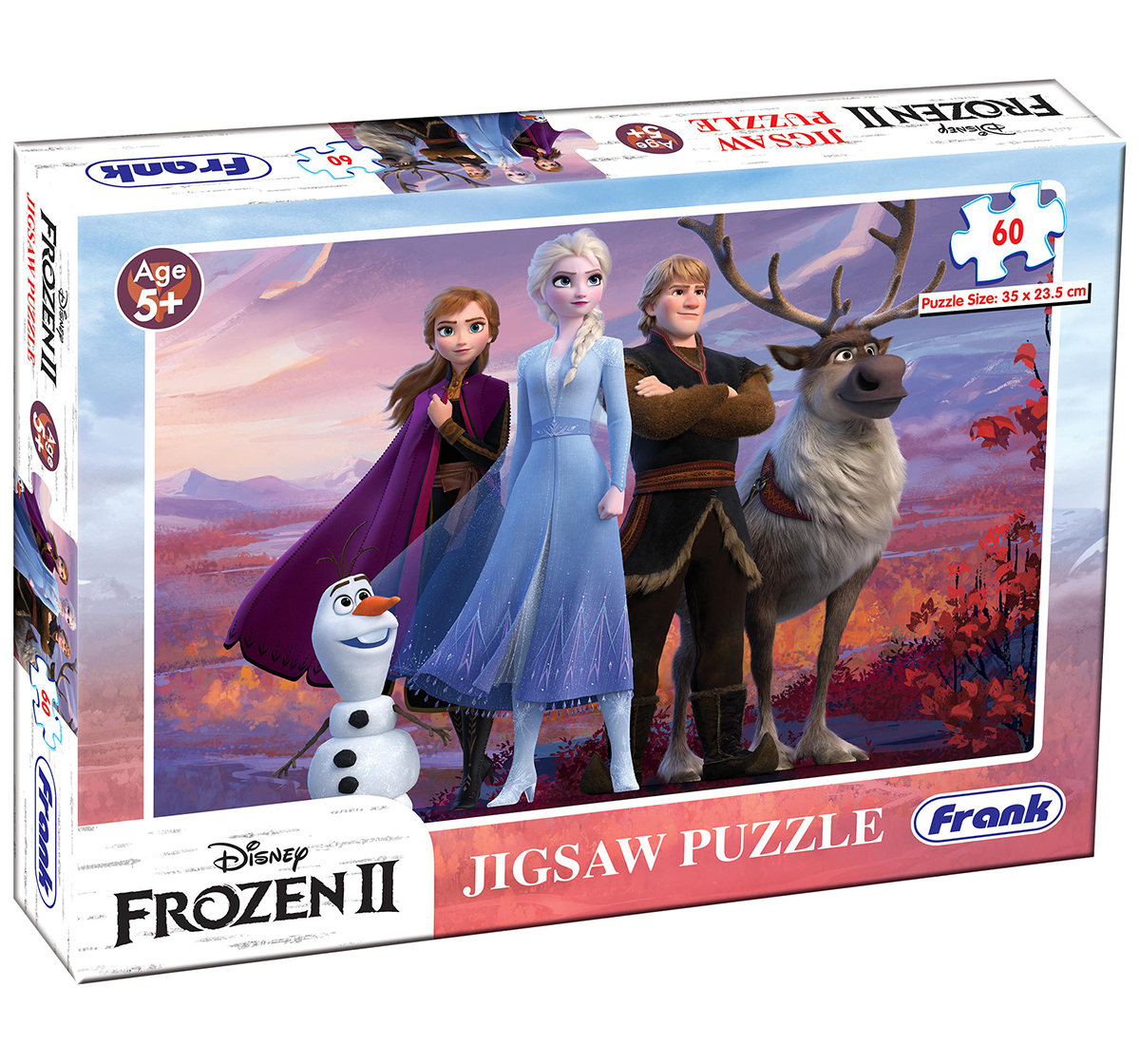 Frank |  Frank Frozen II 60 Pcs Puzzle for Kids age 5Y+