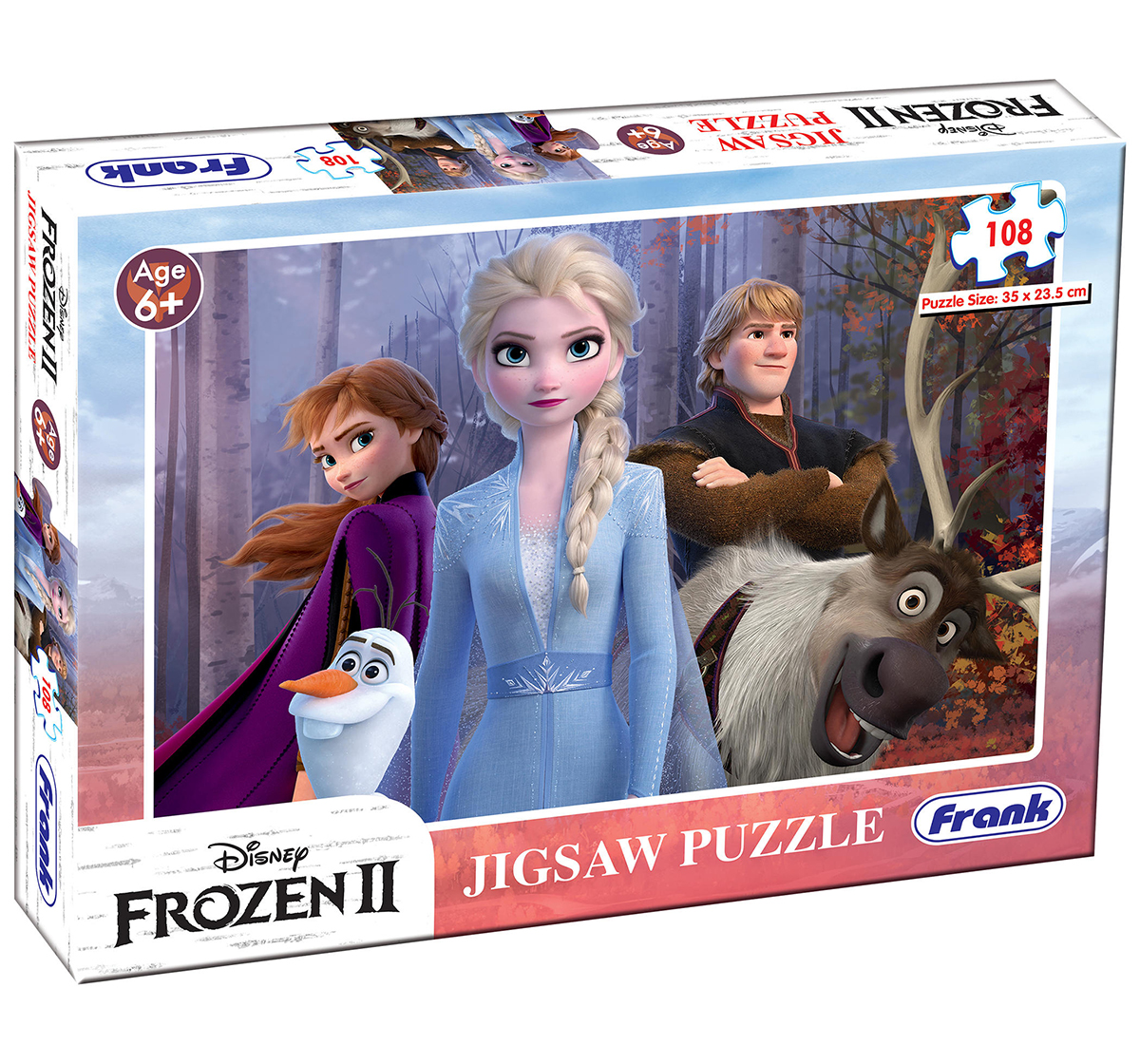 Frank | Frank Frozen II 108 Pcs Puzzle for Kids age 6Y+