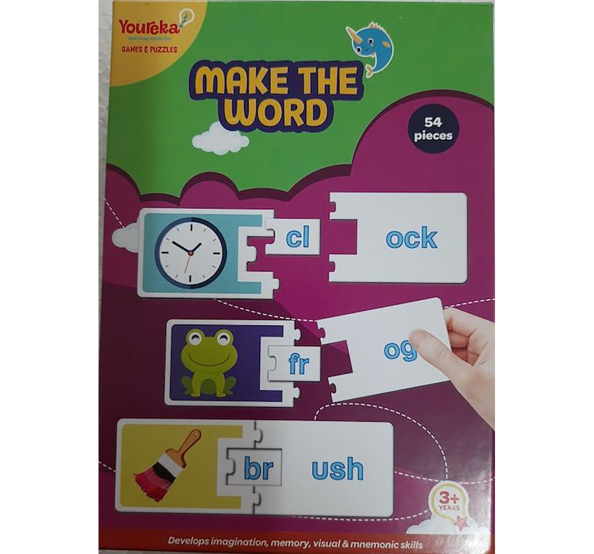 Youreka | Youreka Make the Word Puzzle for Kids age 3Y+