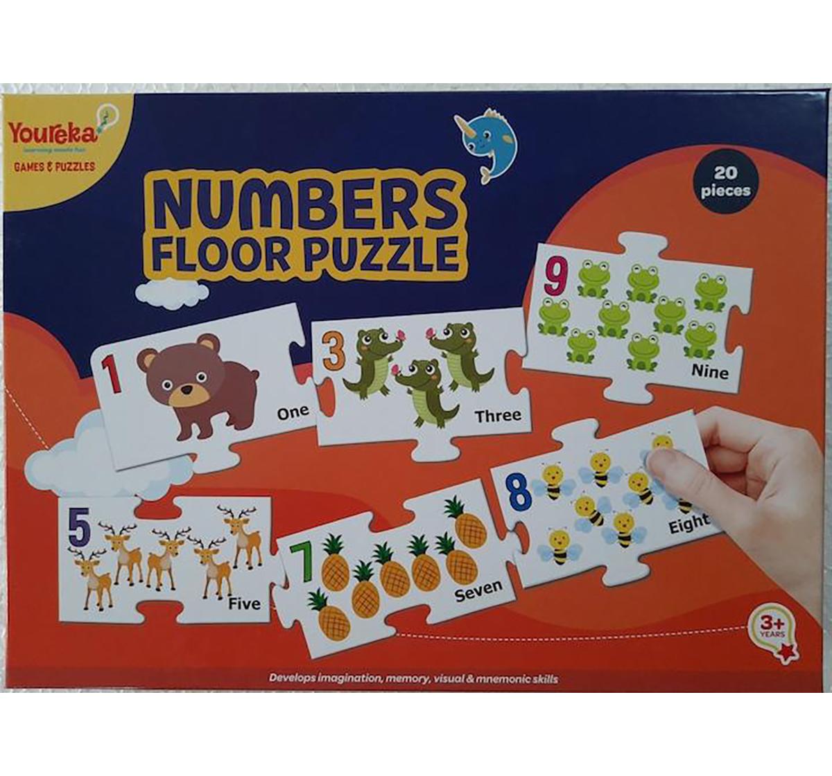 Youreka | Youreka Numbers Floor Puzzle for Kids age 3Y+