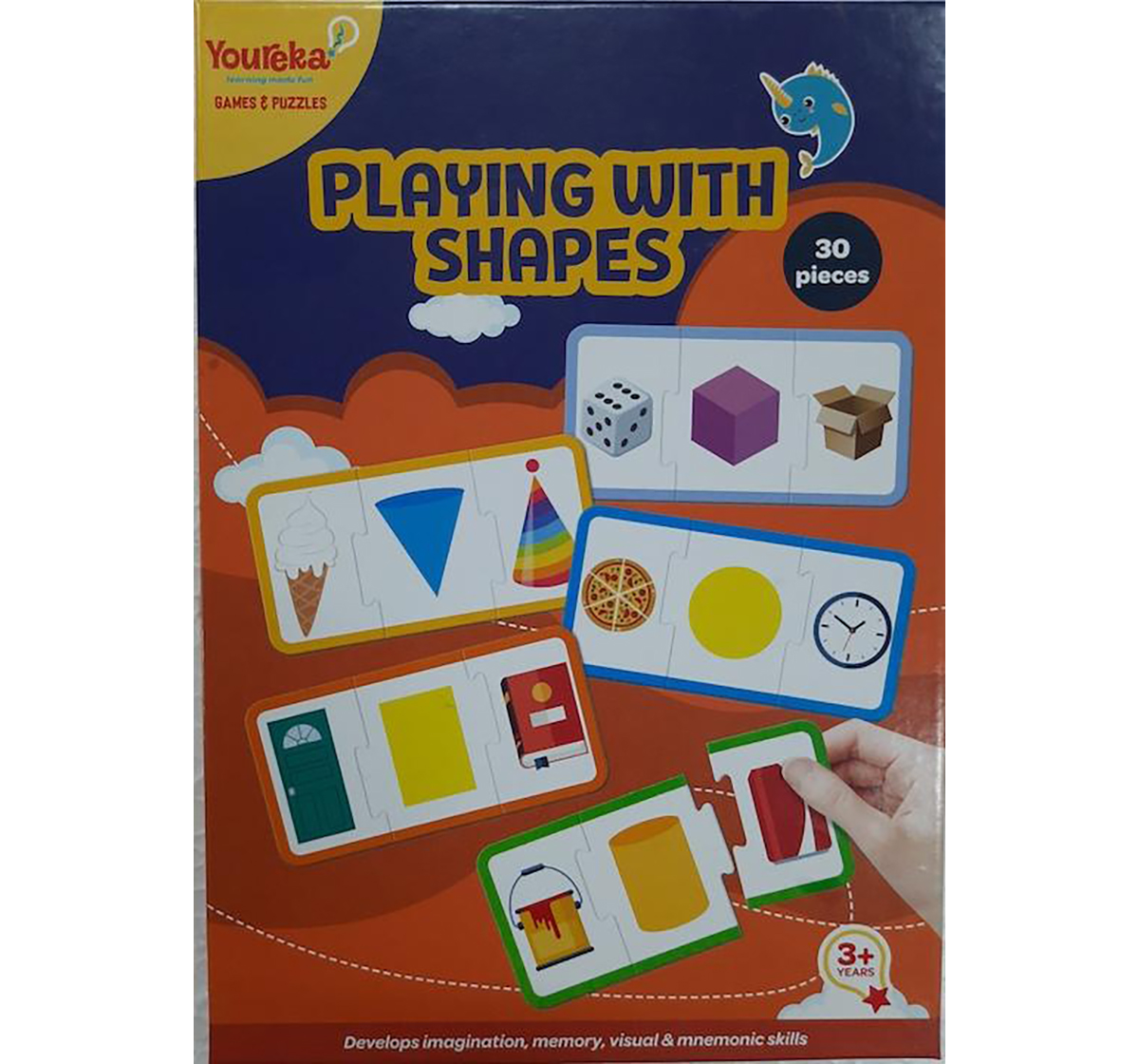 Youreka | Youreka Playing with Shapes Puzzle for Kids age 3Y+