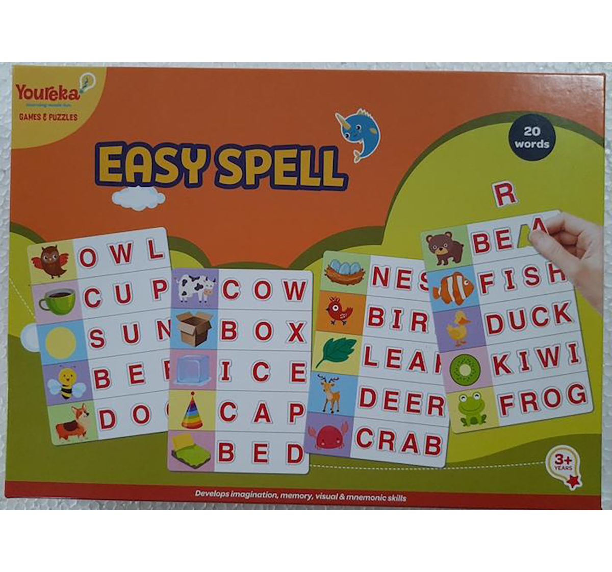 Youreka | Youreka Easy Spell Puzzle for Kids age 3Y+