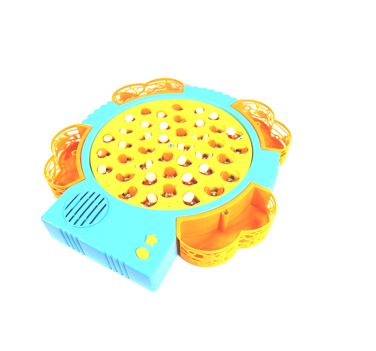 Youreka | Youreka Rotating Musical Bee Catcher Game - 42 Bees And 4 Magnectic Rods Games for Kids age 3Y+