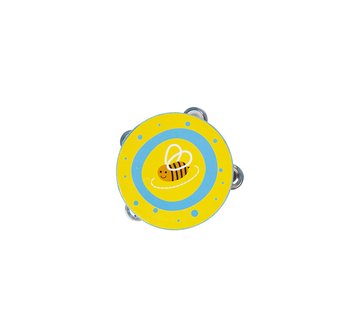 Shooting Star | Shooting Star Wooden Tambourine Drum for Kids age 18M +
