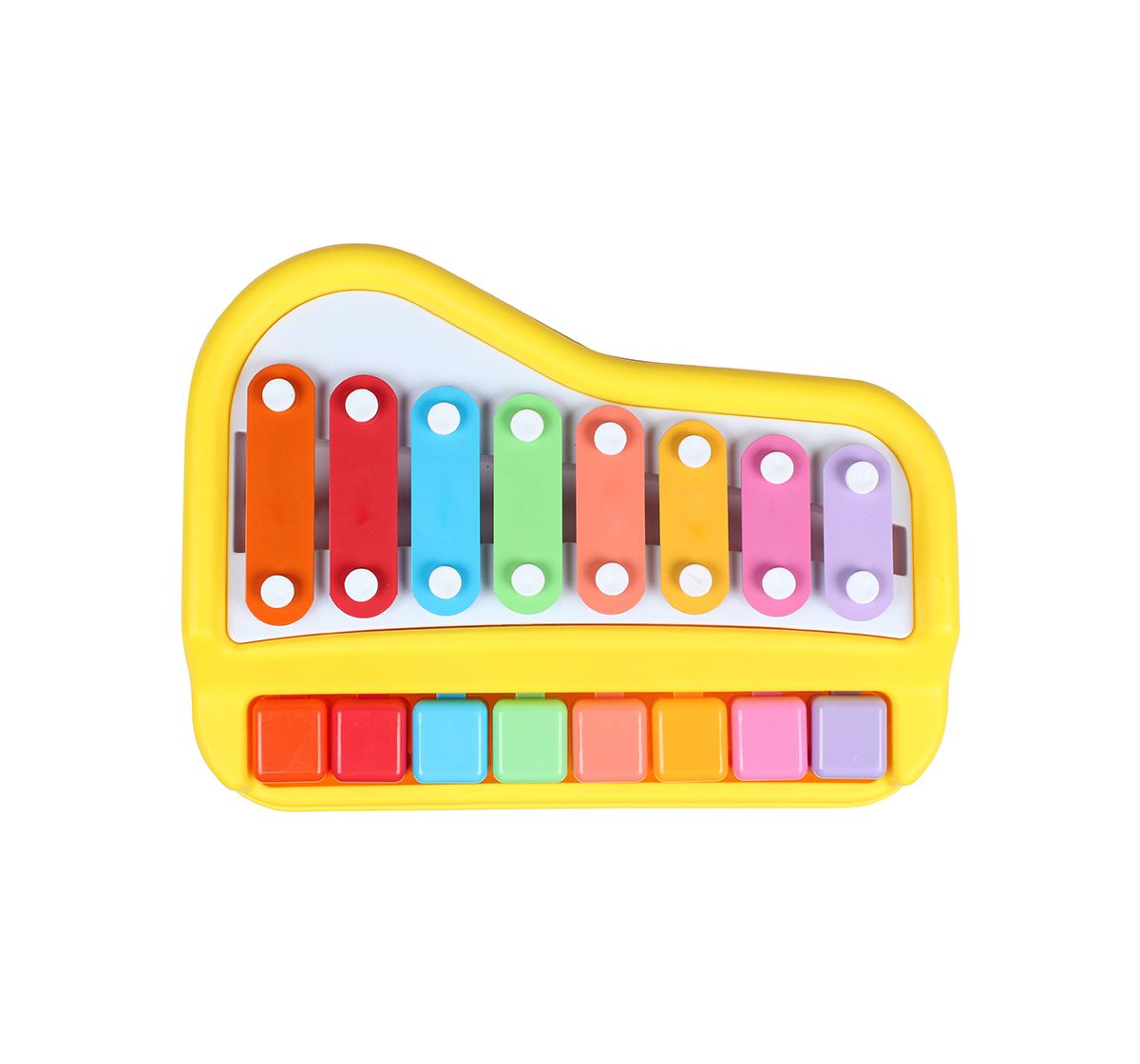 Shooting Star | Shooting Star Xylophone Piano Set for Kids age 18M + (Yellow)