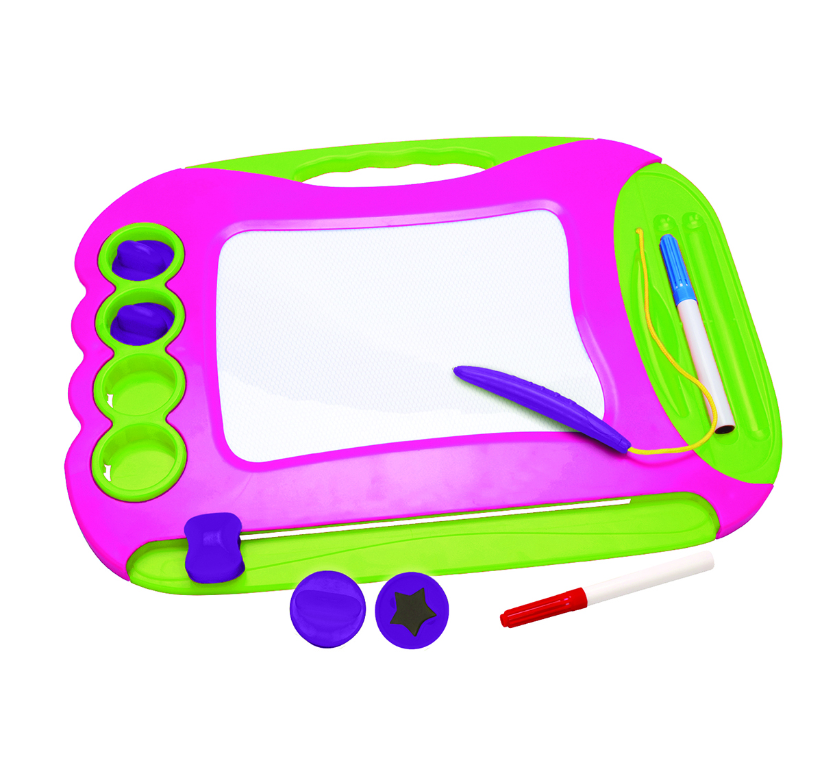 Youreka   Youreka 2 in1 Magic Writer - Pink Activity Table & Boards for Kids age 18M + (Blue)