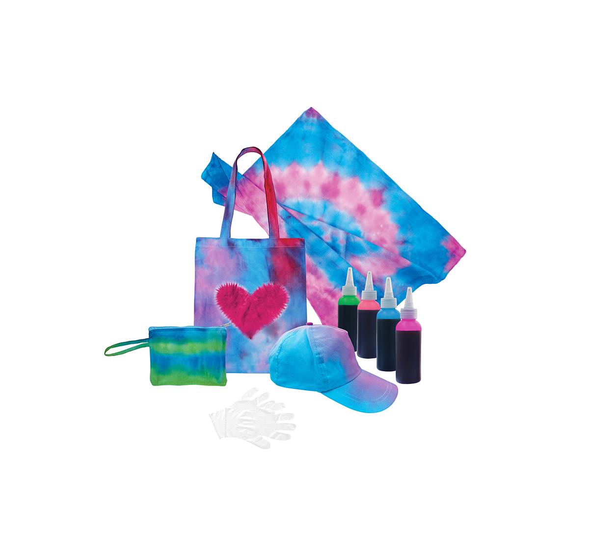 Youreka | Youreka Tie Dye Colour Burst Kit DIY Art & Craft Kits for Kids age 3Y+