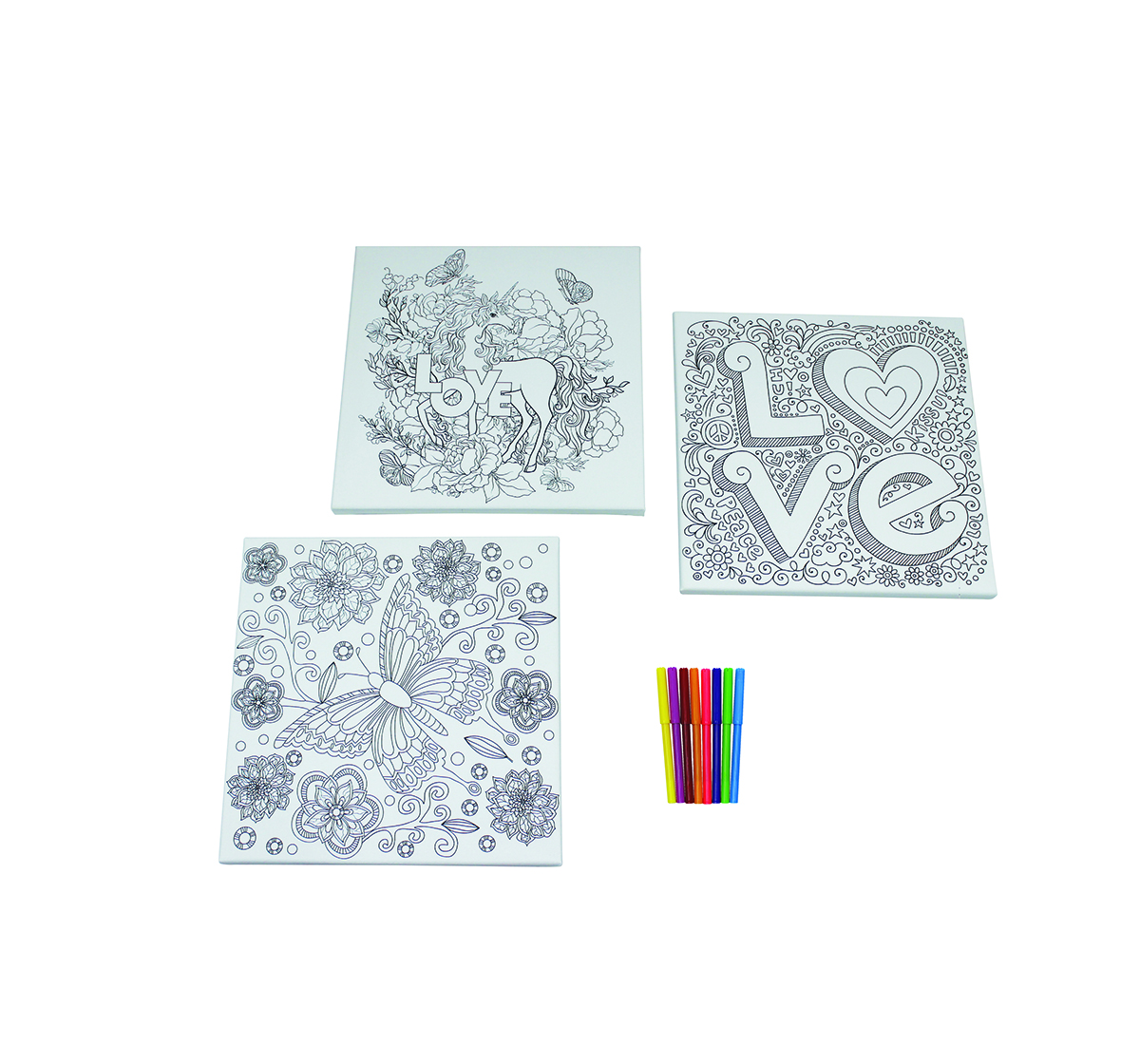 Youreka | Youreka Cool Canvas Art DIY Art & Craft Kits for Kids age 3Y+