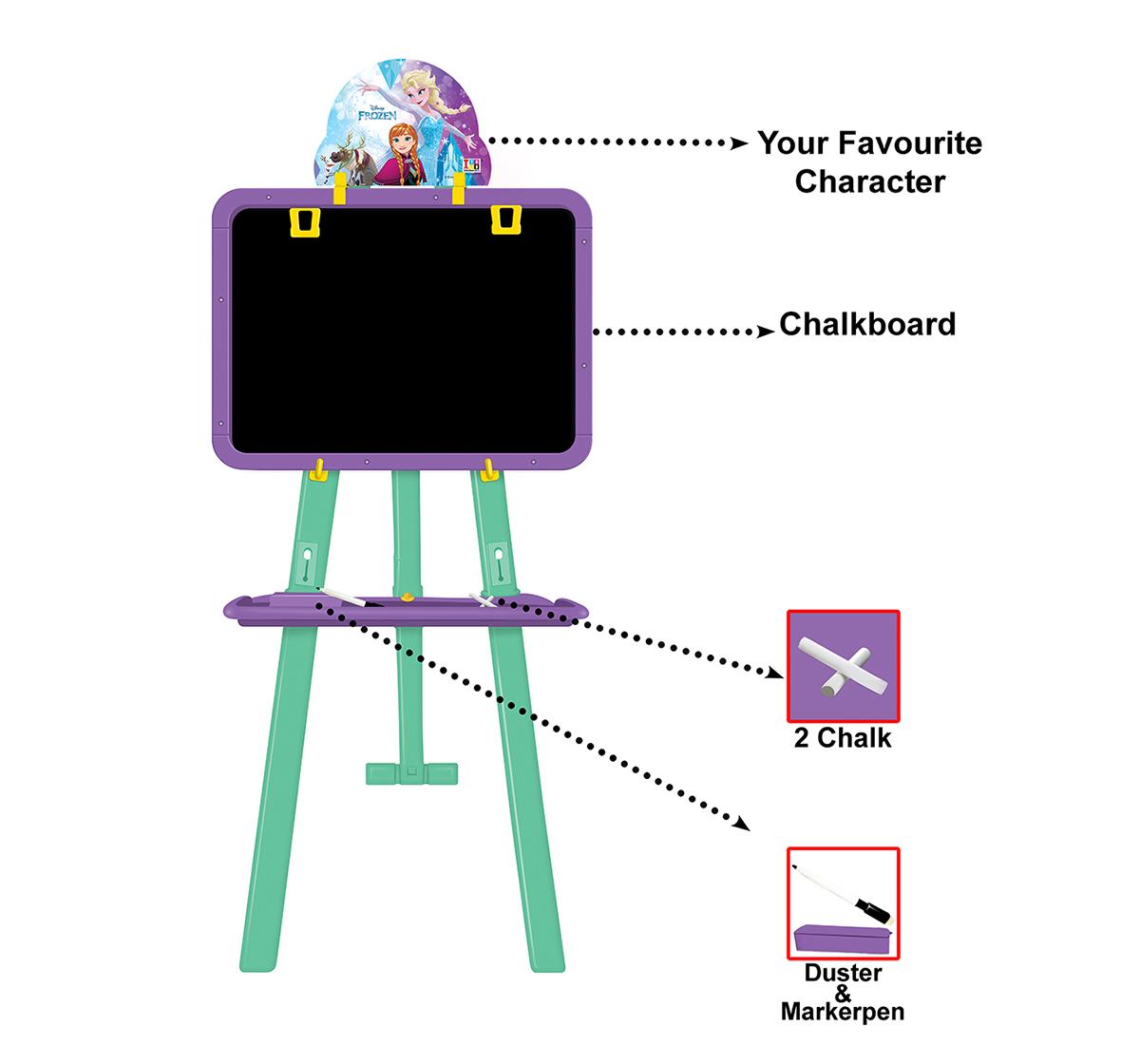 Disney   Disney Frozen 8 In 1 Easel Board Activity Set for Kids age 5Y+