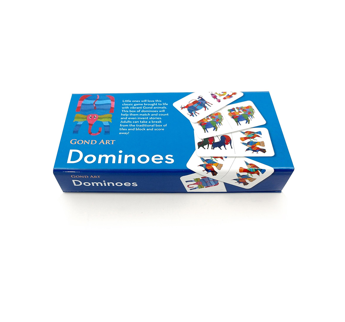 Froggmag | Frogg Dominoes Gond Games for Kids age 13Y+ (Blue)