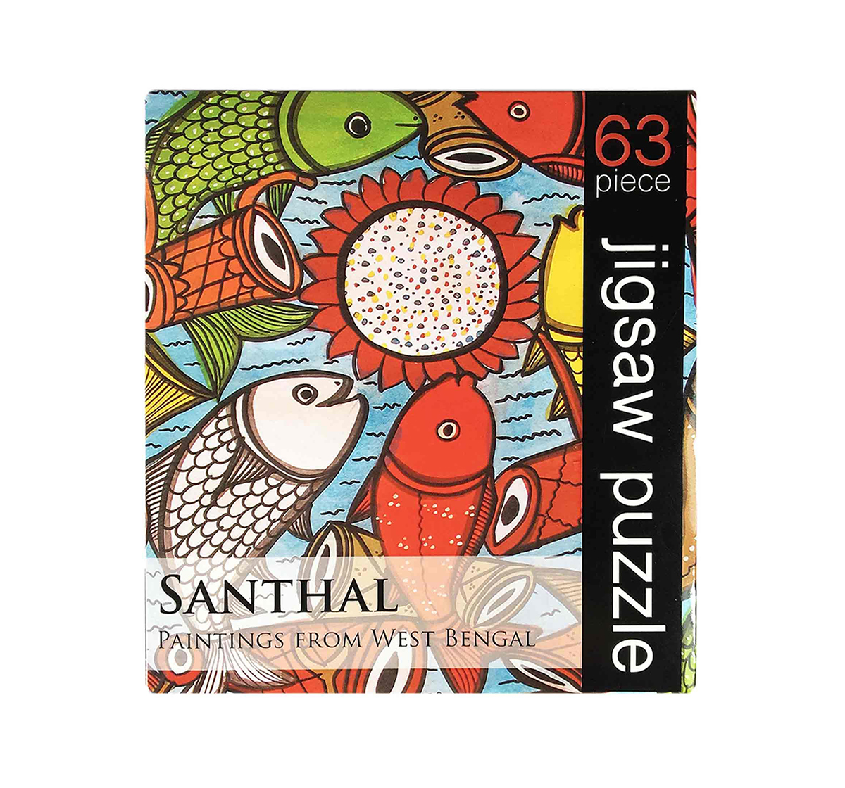Froggmag | Frogg Santhal  63Pc Puzzles for Kids age 7Y+ (Red)
