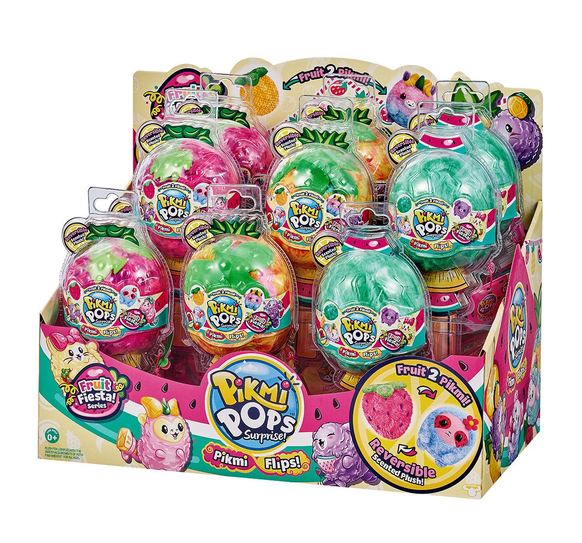 Pikmi Pops | Pikmi Pops Flips  Fruit Fiesta Single Pack Novelty for Girls age 5Y+ - 7.1 Cm