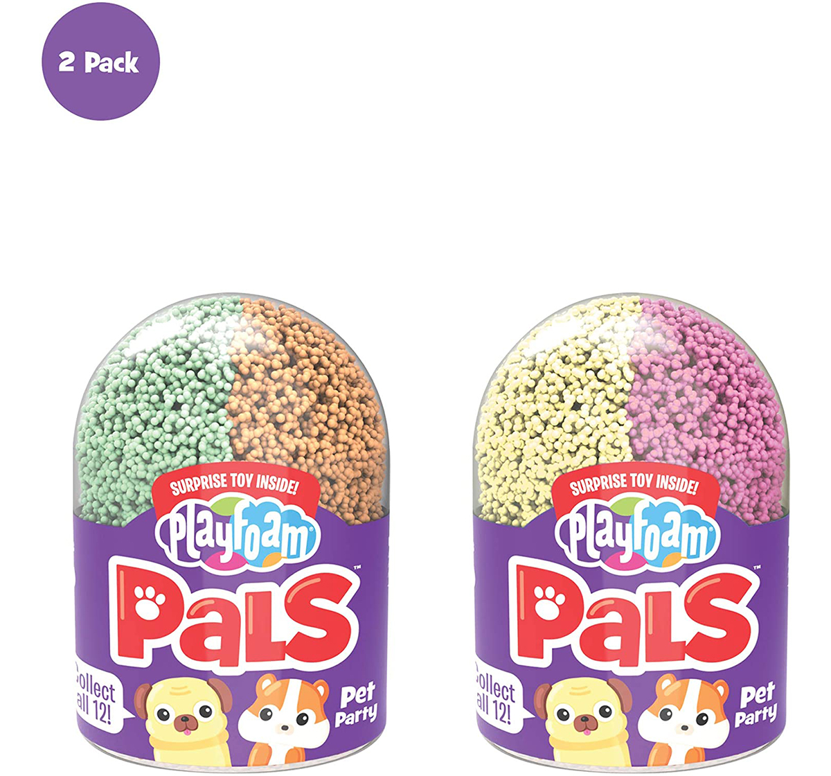 Learning Resources | Learning Resources Learning Resources Playfoam® Pals™ Pet Party Series 2 (2-Pack) Sand, Slime & Others for Kids age 10Y+