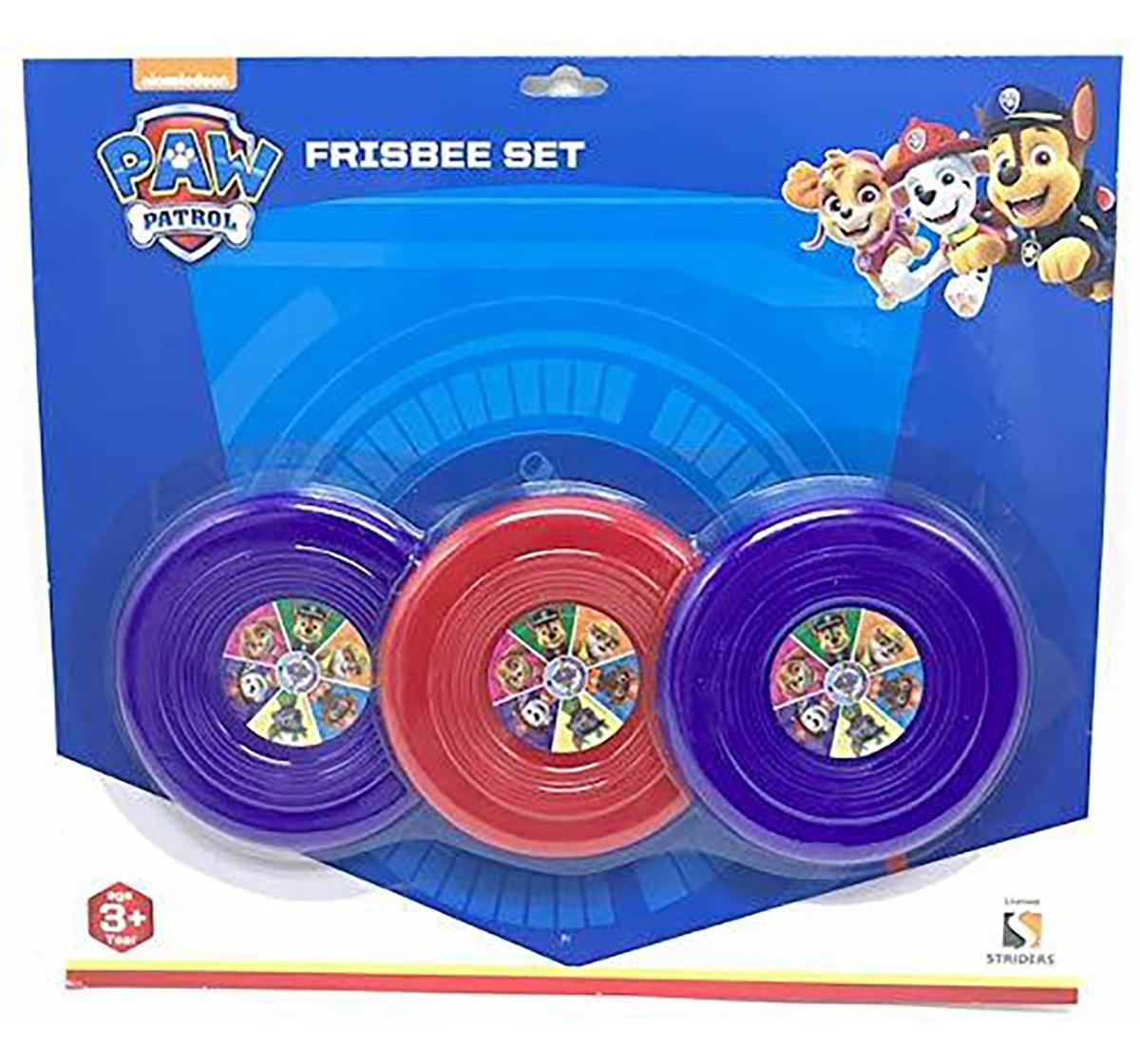 Paw Patrol   Paw Patrol 3 Flying Discs for Kids age 3Y+