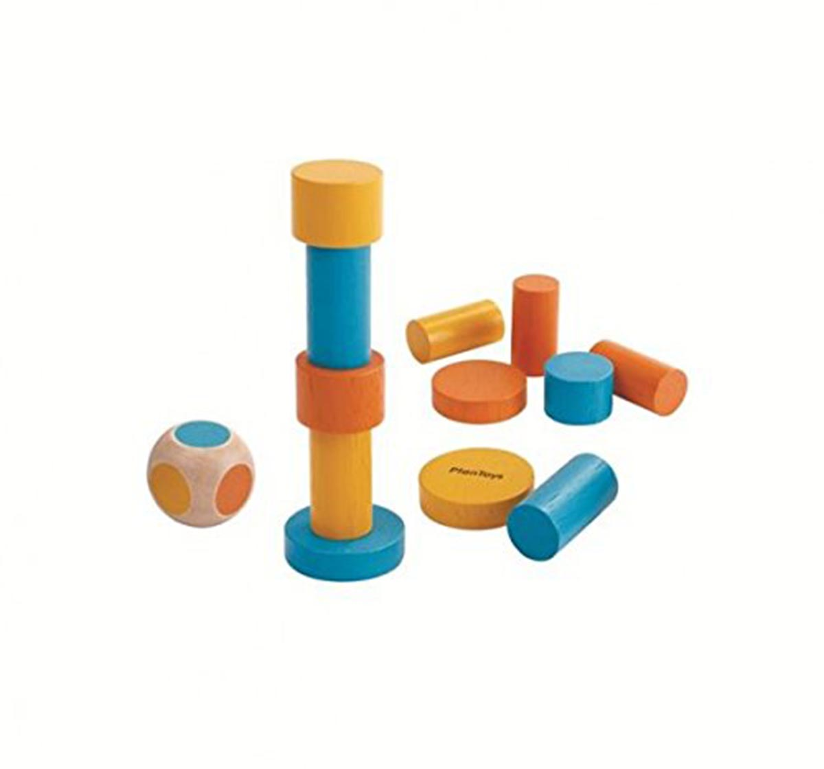 Plan Toys | Plan Toys Stacking Game (6 Boxes/Pack) for Kids age 3Y+