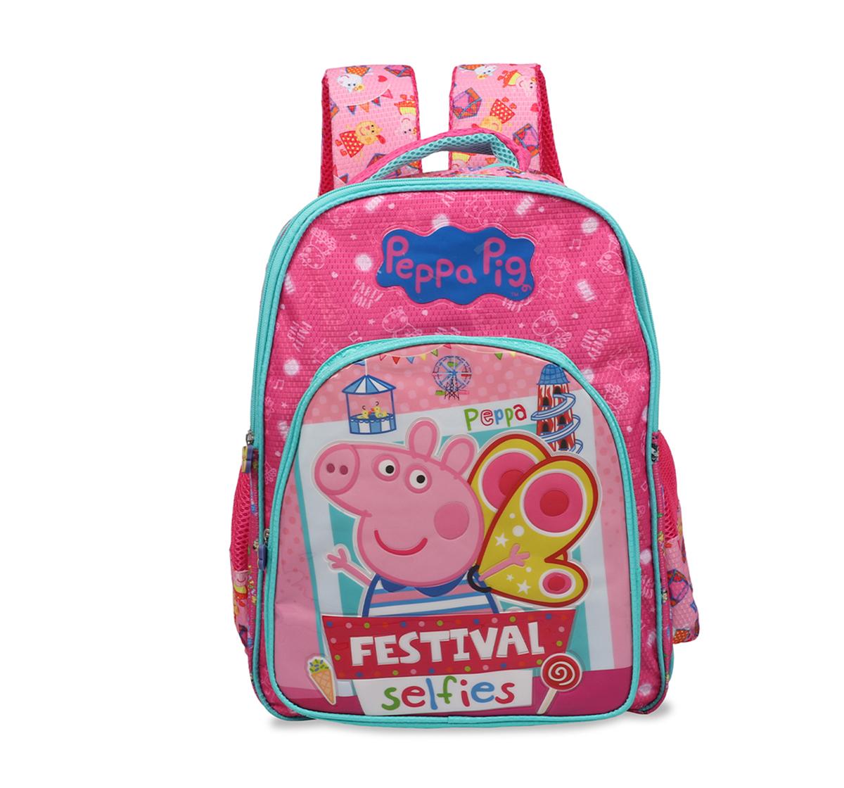 Peppa Pig | Peppa Pig  Festival Selfies  School bag 41 Cm  for Kids age 7Y+ (Pink)