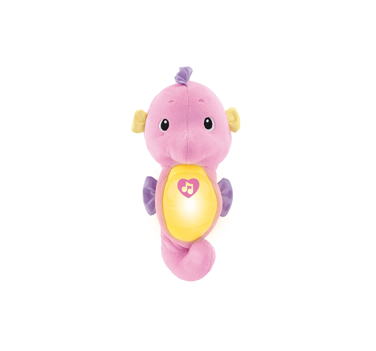 Fisher-Price | Fisher price Sooth and glow Sea Horse, New Born for Kids age 0M+ ( pink)